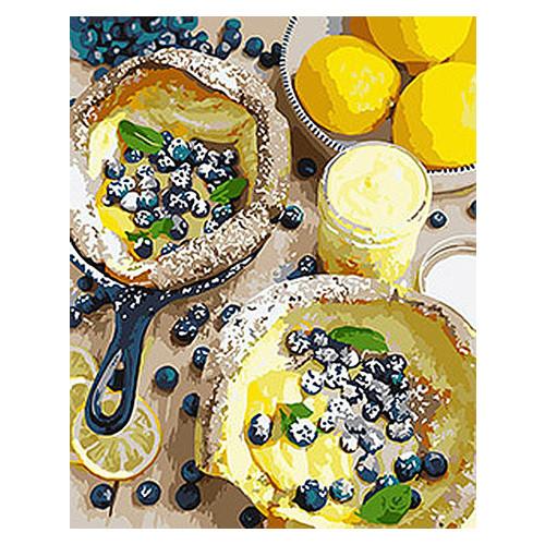 Картина по номерам Натюрморт Яркий завтрак Идейка KHO5542