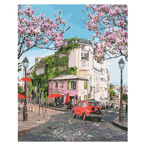 Картина по номерам. Идейка Городской пейзаж Французское путешествие 40*50см (KHO3500)