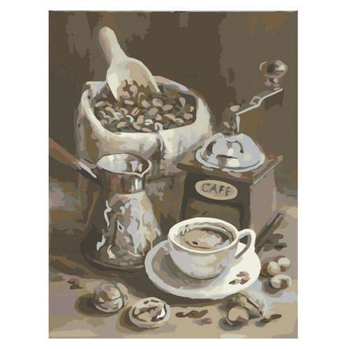 Картина по номерам. Идейка Утренний кофе 40х50см (KHO2047)