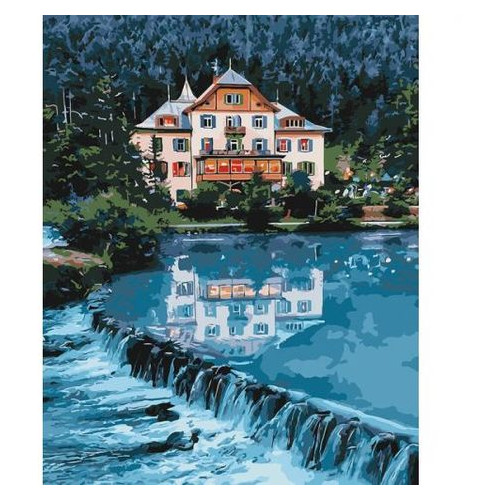 Картина по номерам Идейка Дом мечты (КНО2267)