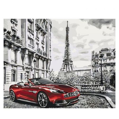 Картина по номерам Идейка Парижское утро (КНО3514)