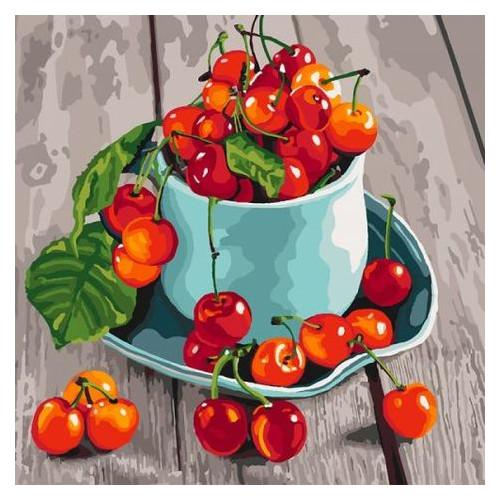Картина по номерам Идейка Черешневые вкусности (КНО5552)