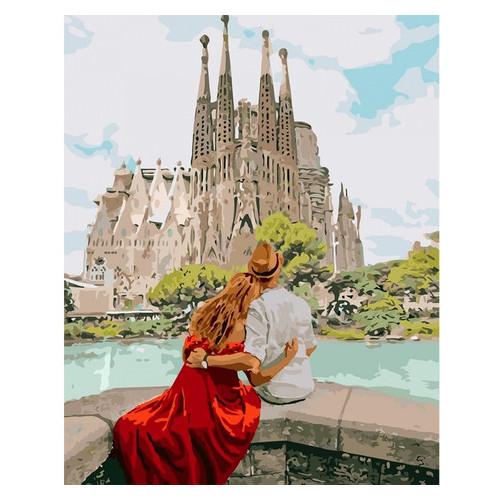 Картина по номерам Идейка Романтическая Испания 40х50 см (KHO4689)