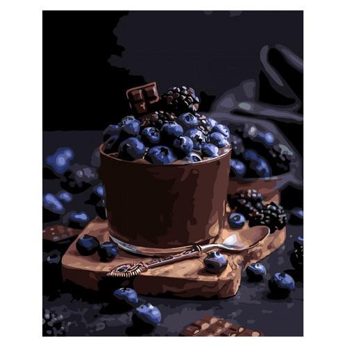 Картина по номерам Идейка Соблазнительный десерт 40х50 см (KHO5574)