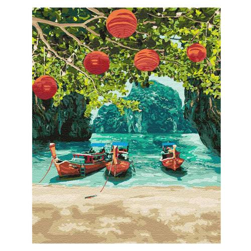 Картина по номерам Идейка Отдых в Таиланде 40х50 см (KHO2291)