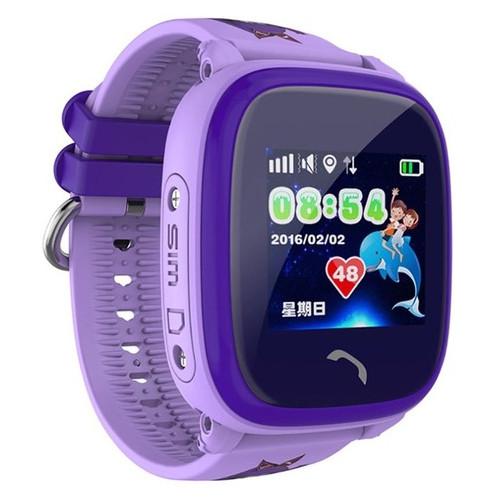 Смарт-часы Uwatch DF25 Kids Waterproof Smart Purple