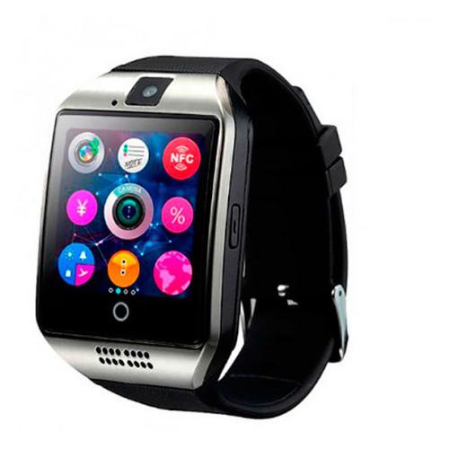 Смарт-часы с сим-картой Smart Q18 UWatch 5041 NFC Black