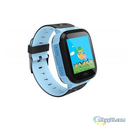 Смарт-часы GoGPS ME К12 Синие (К12СН)