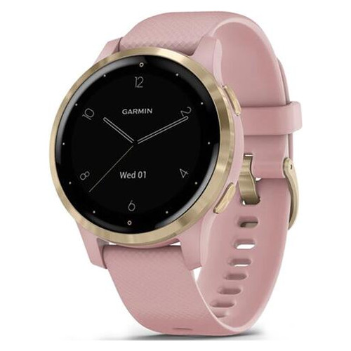 Смарт-часы Garmin Vivoactive 4S Dust Rose with Light Gold (010-02172-33)