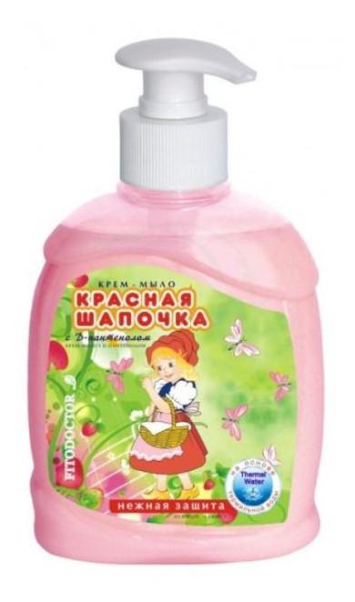Крем-мыло Фитодоктор Красная шапочка с Д-пантенолом, 300 мл 762691