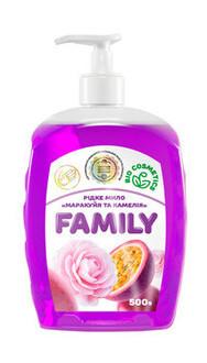 Жидкое мыло For my Family Маракуйя и камелия 500 мл 722430