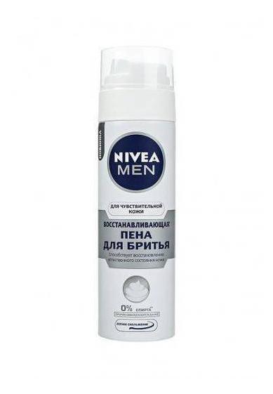 Пена для бритья Восстанавливающая для чувствительной кожи Nivea 200мл 313119