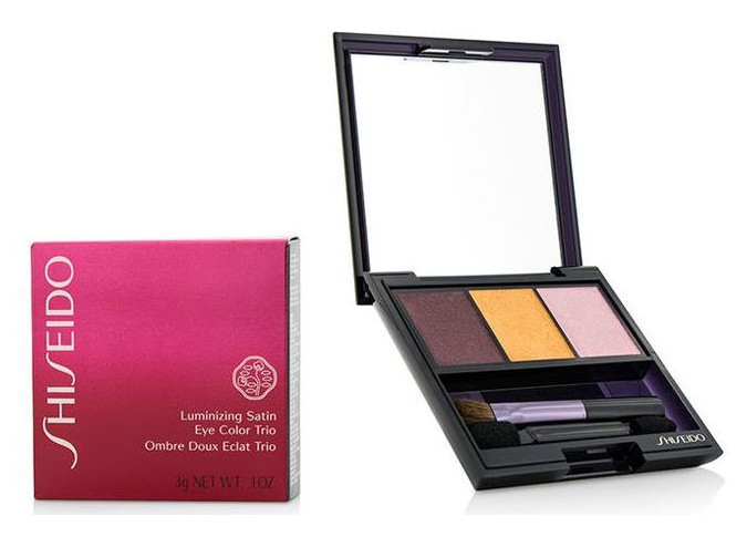 Тени Shiseido Luminizing Satin Eye Color Trio PK 403 - Boudoir (будуар)