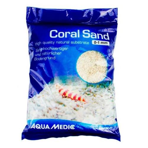 Коралловая крошка Aqua Medic Coral Sand 0 - 1 мм 10 кг