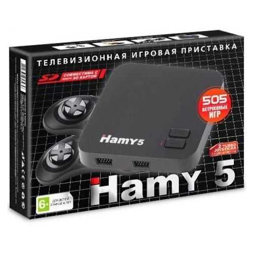 Игровая приставка Hamy 5 HDMI | 505 встроенных игр Sega + Dendy | поддержка карты памяти SD