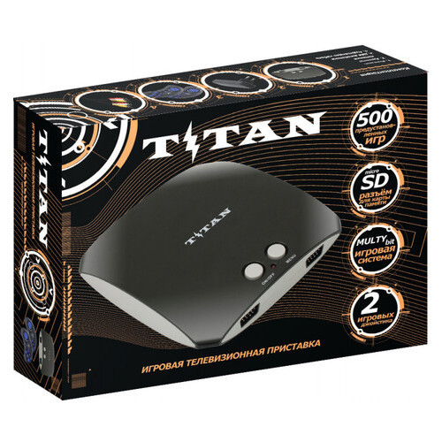 Игровая приставка двухсистемная 8 и 16 бит с памятью TITAN 3