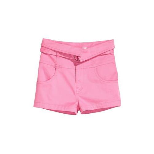 Шорты с поясом  H&M  36  Розовые  (0558510001)