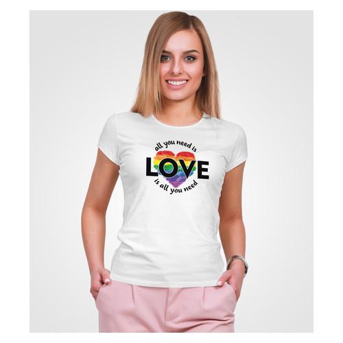 Футболка Malta 18Ж152-17-Р Love 1 L Белая (2901000175393)