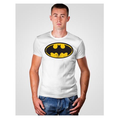 Футболка Malta 19М063-17-Р Batman S Белая (2901000204932)