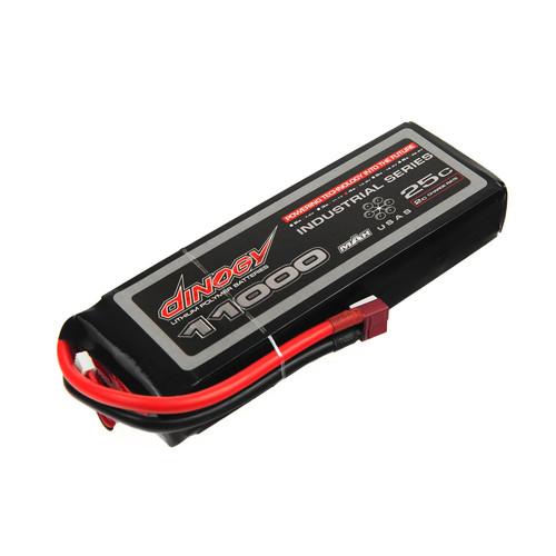 Аккумулятор Dinogy Li-Pol 11000mAh 14.8V 4S 25C 40x61x179мм T-Plug (DLC-4S11000C-T)