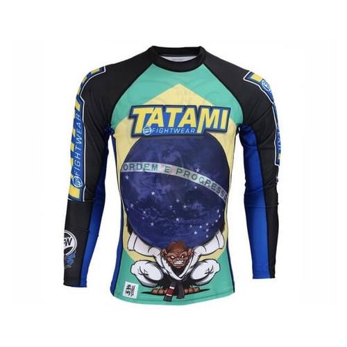 Рашгард с длинным рукавом Tatami Fightwear Atlas (M) Принт