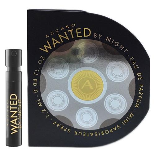 Парфюмированная вода Azzaro Wanted By Night для мужчин 1.2 ml minispray