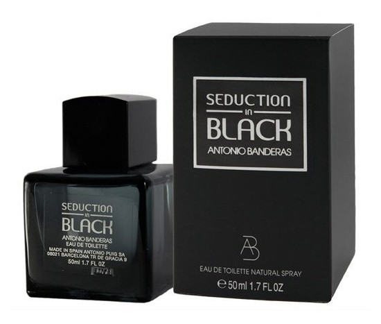 Туалетная вода Antonio Banderas Seduction in Black для мужчин - edt 50 ml