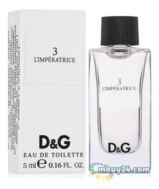 Туалетная вода Dolce&Gabbana 3 LImperatrice edt 5 ml mini (L) (737052272207)