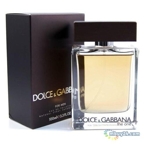 Туалетная вода Dolce&Gabbana The One for Men edt 100 ml spray (M) (3423473021209)