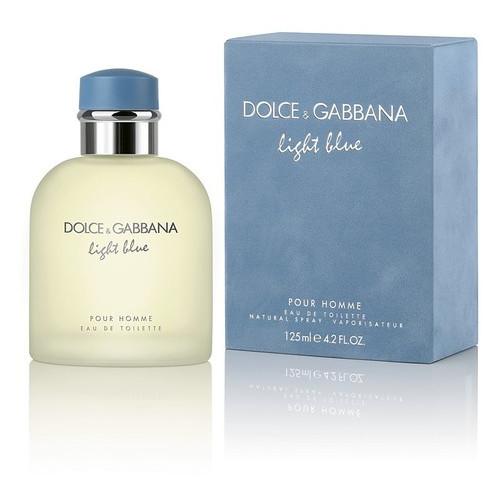 Туалетная вода Dolce&Gabbana Light Blue Pour Homme Набор (туалетная вода 125 мл + туалетная вода 40 мл)