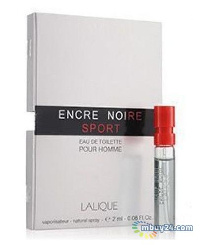 Туалетная вода Lalique Encre Noire Sport edt 2 ml vial (M) (14743)
