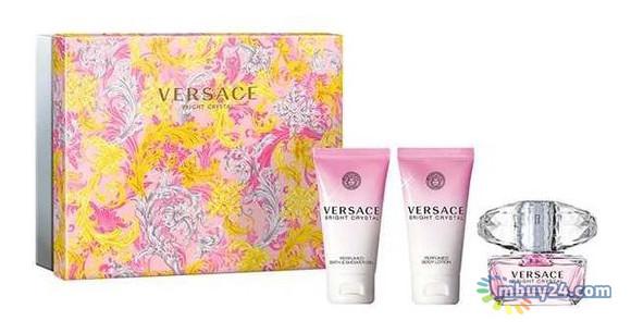 Набор Versace Bright Crystal для женщин (оригинал) - set ( edt 50 ml+ 50 bl+ 50 sg )