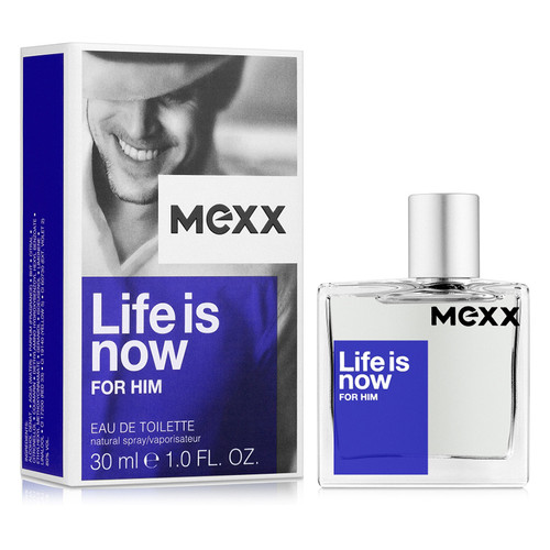 Туалетная вода Mexx Life is Now for Him для мужчин 30 ml