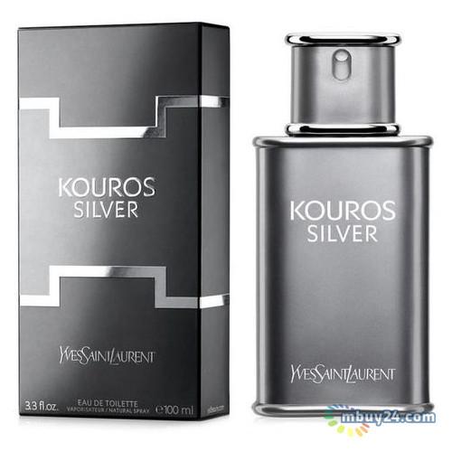 Туалетная вода Yves Saint Laurent Kouros Silver для мужчин (оригинал) - edt 100 ml