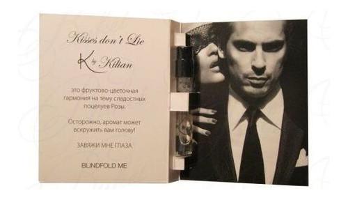 Парфюмированная вода Kilian Kisses dont Lie для женщин 1.5 ml vial