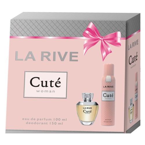 Женский подарочный набор CUTE (Парфумированная вода/дезодорант) La Rive HIM-060239