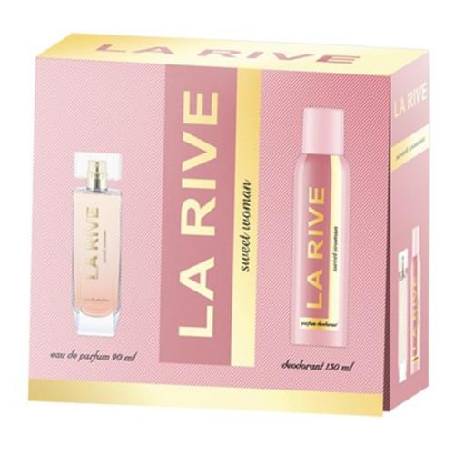 Женский подарочный набор SWEET WOMAN (Парфумированная вода/дезодорант) La Rive HIM-065630