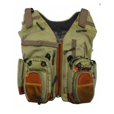 Жилет для рыбалки и охоты Tramp-sport TRFB-006 L/XL Оливковый