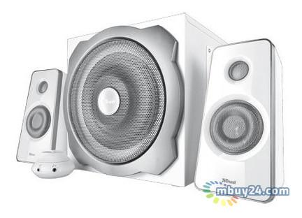 Акустическая система Trust Tytan 2.1 Subwoofer Speaker Set white (18789)