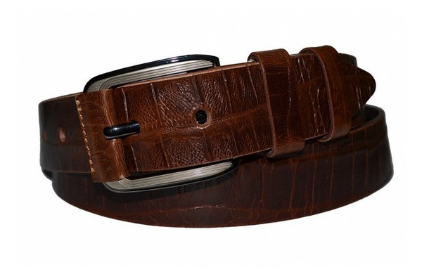 Джинсовый кожаный ремень Sergio Torri 221273