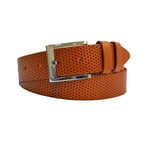 Джинсовый кожаный ремень Sergio Torri 02443