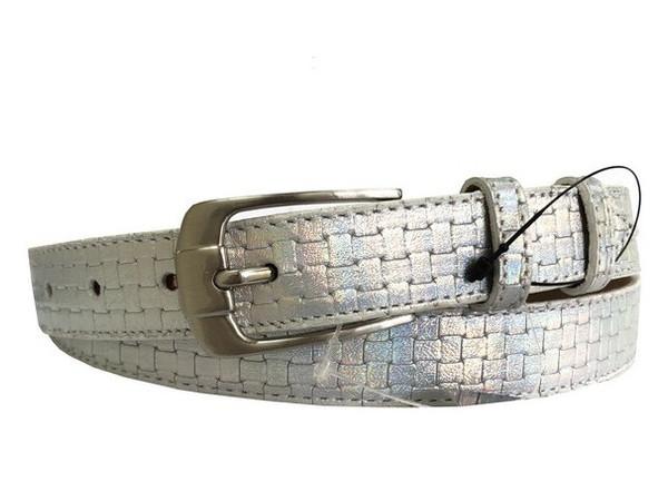 Женский тонкий кожаный ремень Sergio Torri 345665