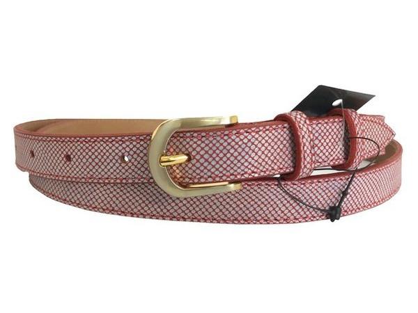 Женский узкий кожаный ремень Sergio Torri 21333