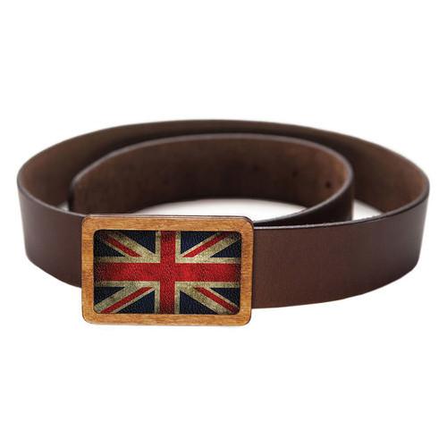 Ремень DevayS Maker DM 01 Great Britain flag красный (09-01-60)