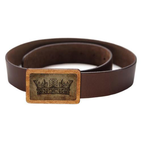 Ремень DevayS Maker DM 01 Королева коричневый (09-01-450)
