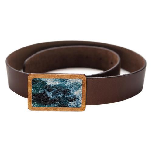 Ремень DevayS Maker DM 01 Морские волны синий (09-01-466)
