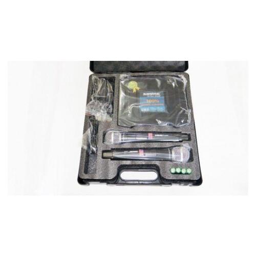 Радиосистема SHURE UHF UK90 2 беспроводных микрофона (77703218)