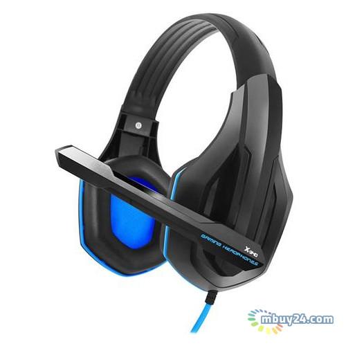 Наушники Gemix X-340 Black/Blue