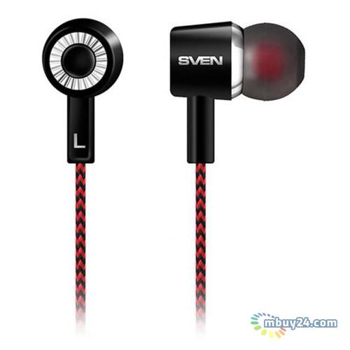 Вакуумные наушники Sven SEB-108 Black/Red