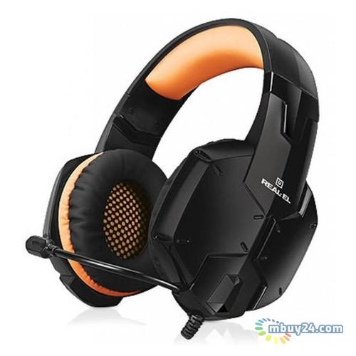 Наушники Real-El GDX-7700 Surround 7.1 Black-Orange